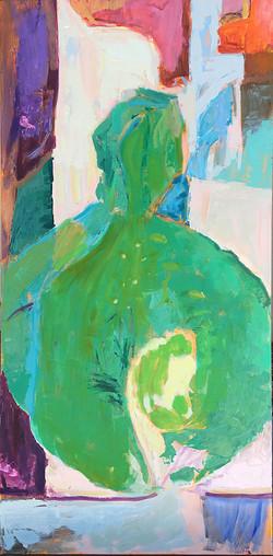 Contemplation - green