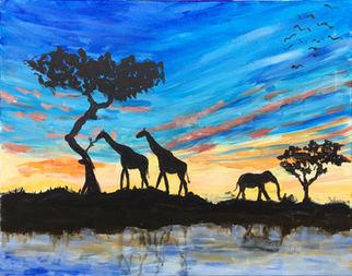 Sunset Animals - S13