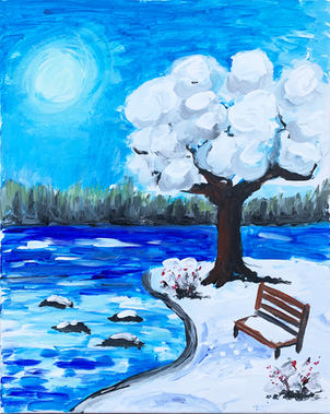Winter Bench - W3