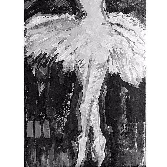 Ballerina I Print Custom Size