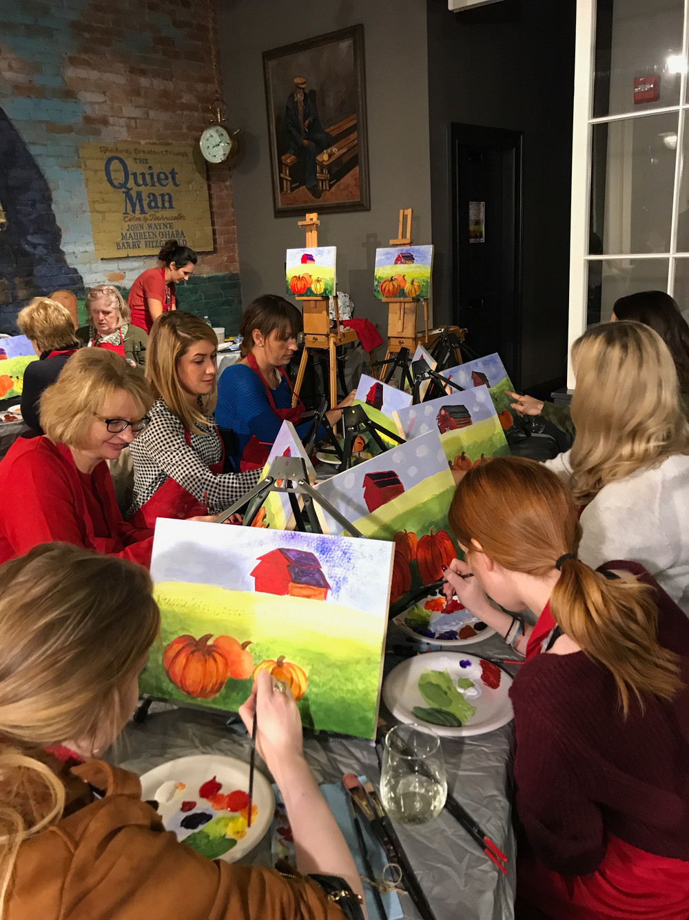 Paint And Sip Events Near Boston, MA   by Paint With ME ...