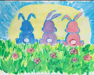 Hoppy Easter 2021 Painting