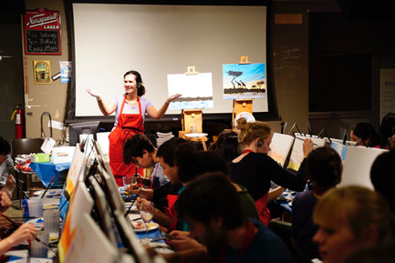 Host your own (virtual) paint night