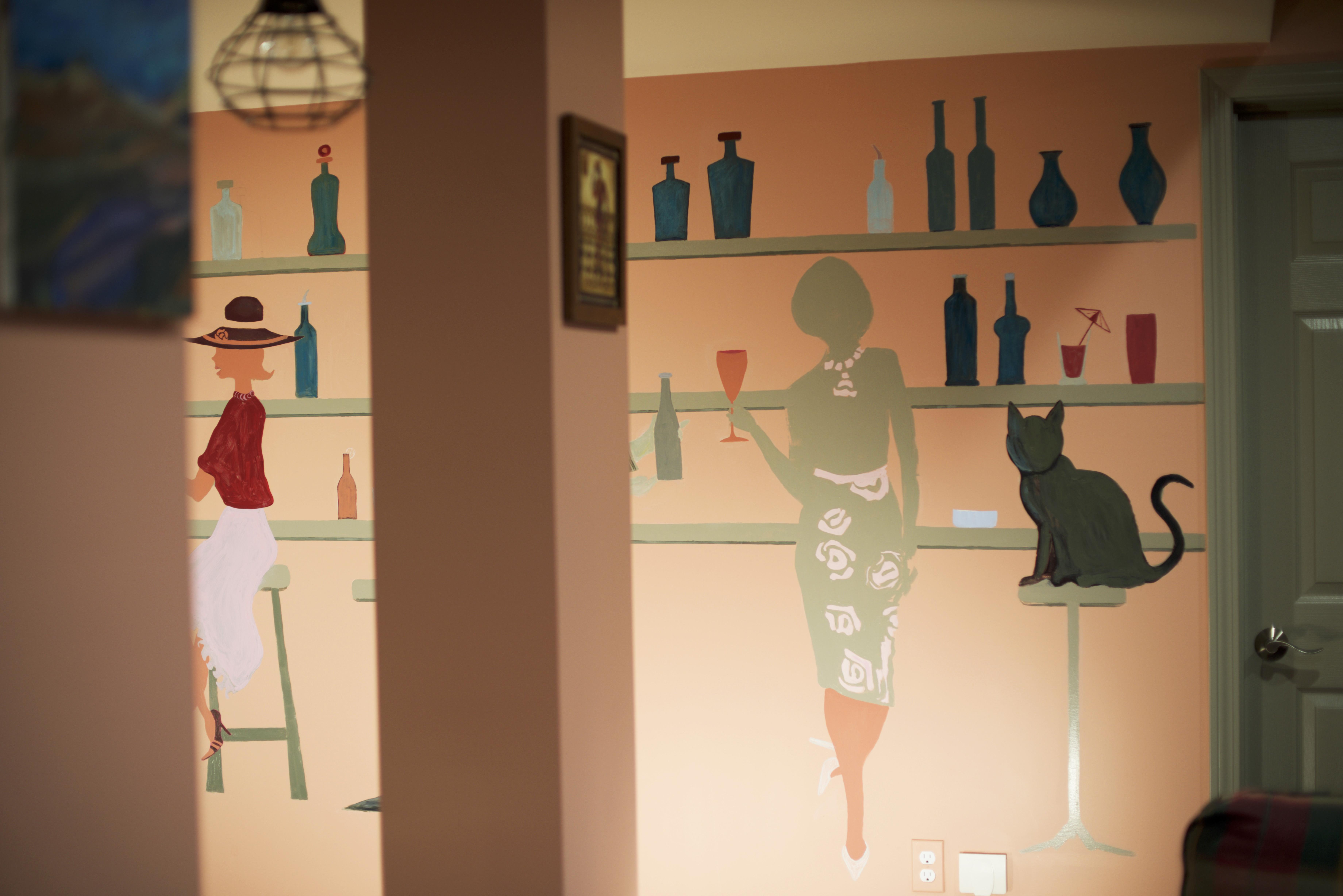 Custom Mural - Game Room - 1