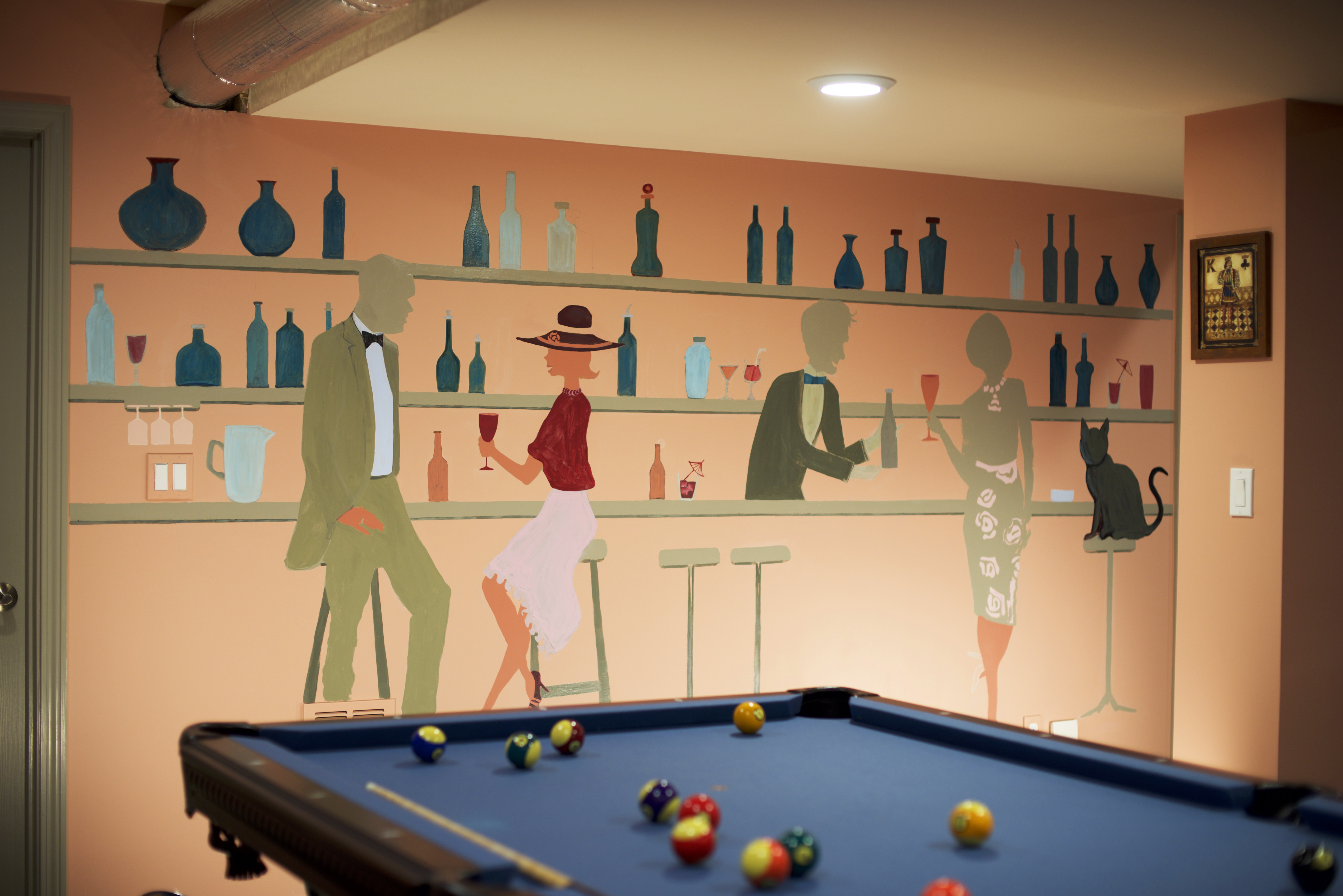 Custom Mural - Game Room - 4