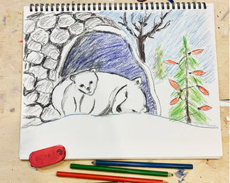 Polar Bears drawing - wd1