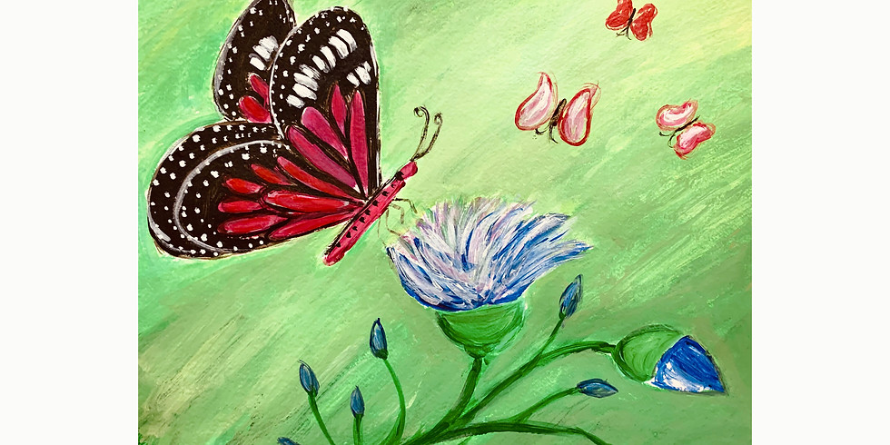 Free Class - Butterfly Painting