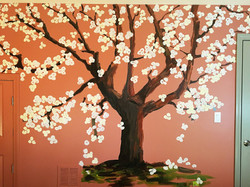 Custom Mural - Spring Tree 2