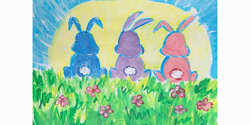 Hoppy Easter - Painting
