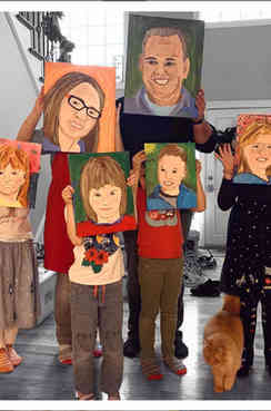 Self Portraits - Family Paint Party