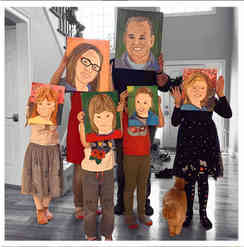 Self Portraits - Create with your family