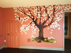 Custom Mural - Spring Tree 1