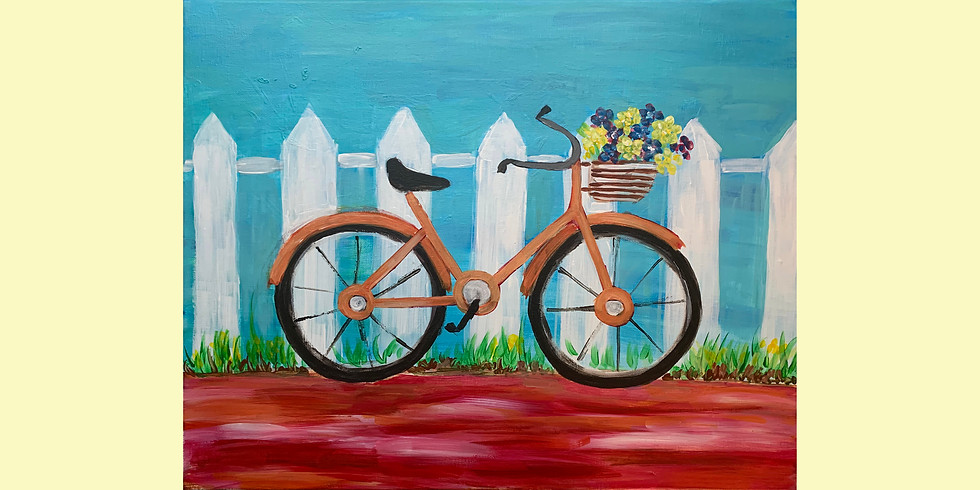 Virtual Paint Party - Bike