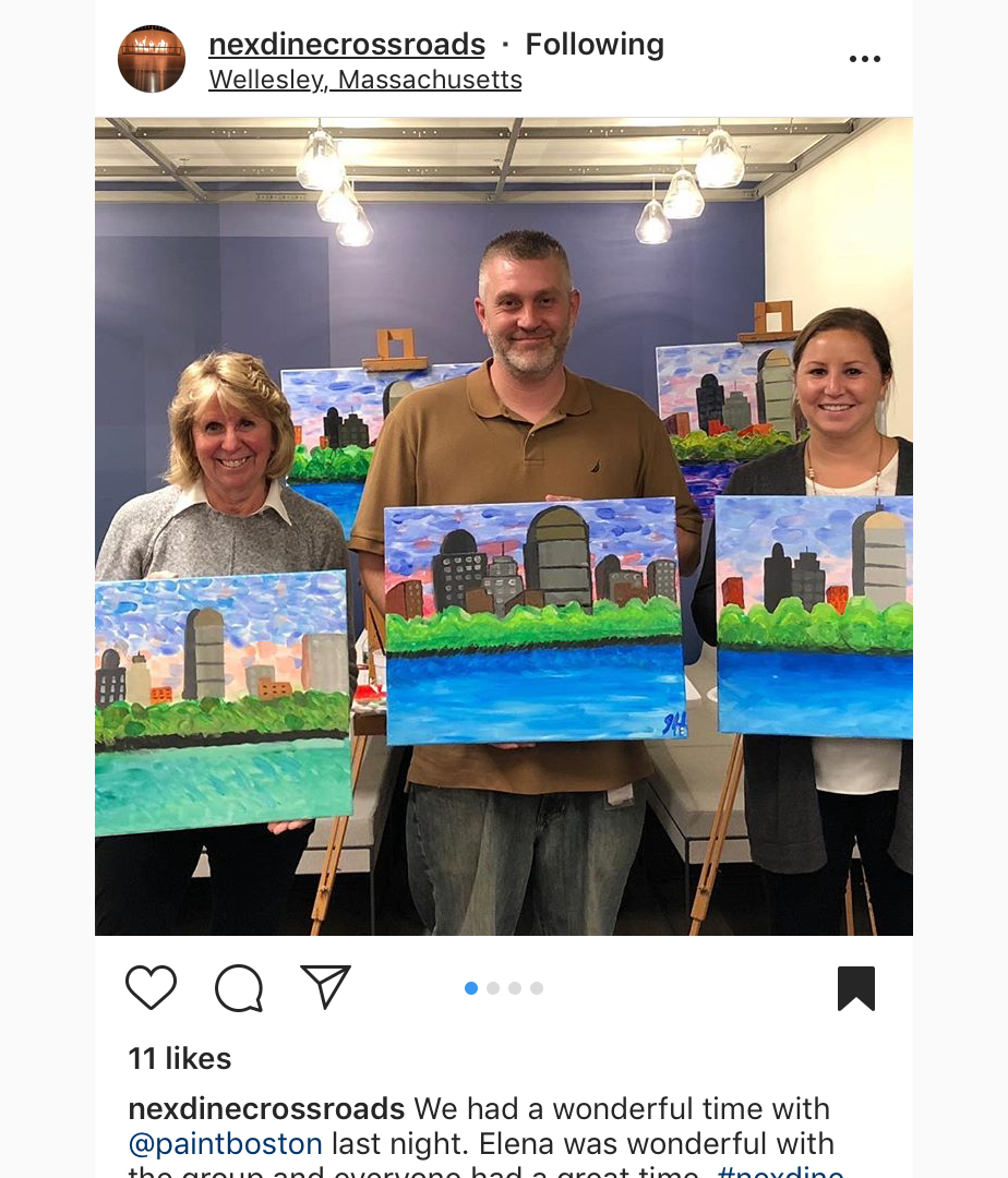 office paint party for Nexdine