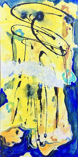 """Acrylic on Canvas, 10x20"""""""