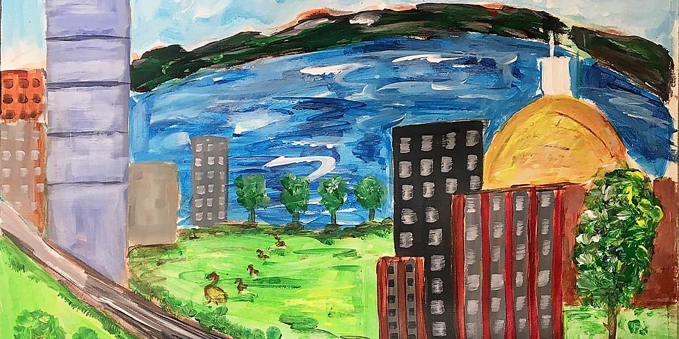 CIC Boston - Paint Party