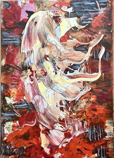 """Acrylic on canvas 5x7"""""""