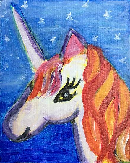 """Kids - Unicorn, size 16x20"""""""