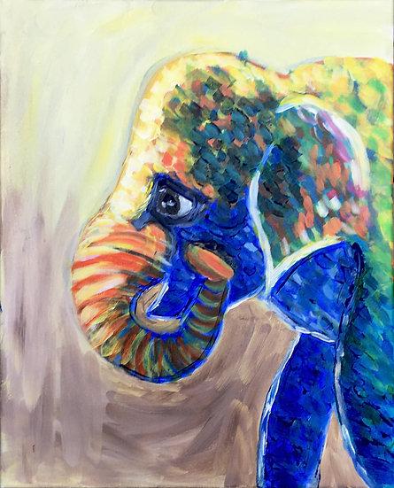 """Acrylic on canvas, 16x20"""""""