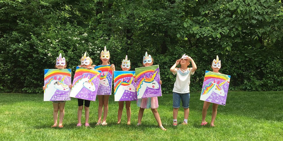 Kids Paint Party - Submit Inquiry