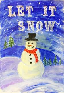 Snowman - W1