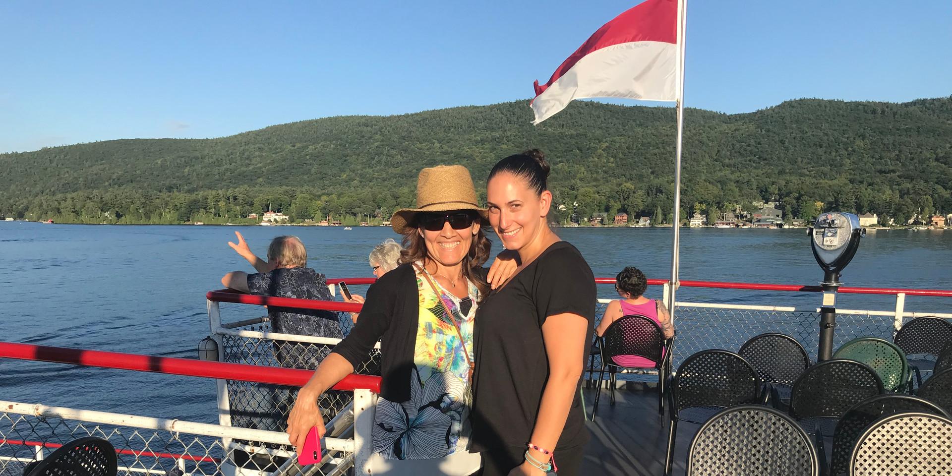 Lake George Steamboat ride