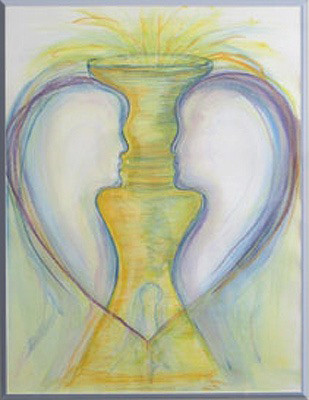 "Watercolor Painting ""The Chalice"""
