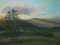 Dusk in the Margaree