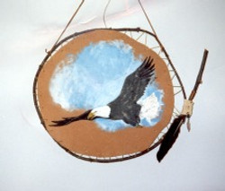 Eagle shield - Sold