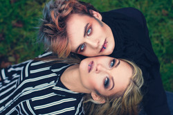"Creative makeup models ""Couple"""