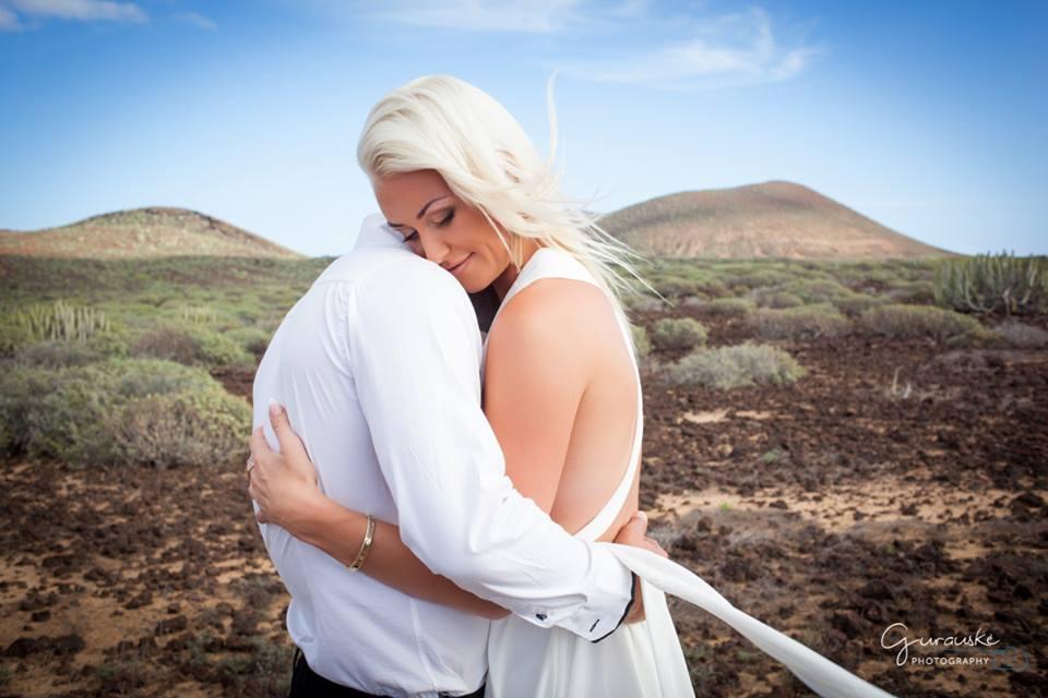 Wedding makeup romantic style
