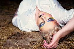 "Creative makeup model ""Painter model"""