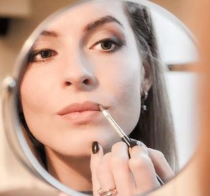 Express makeup model