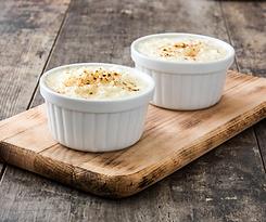 arroz con leche. Colombian Dessert