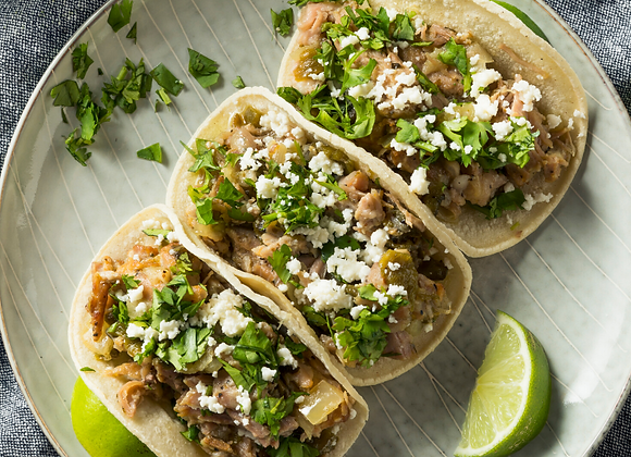 Mushrooms carnitas Tacos