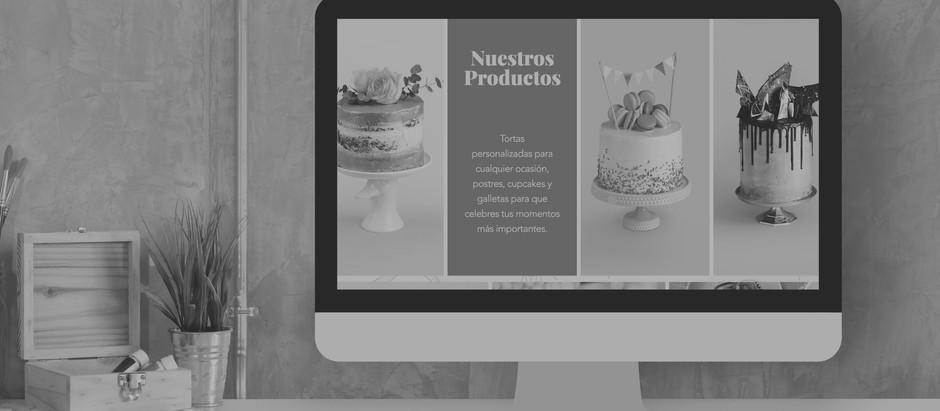 12 excelentes websites de pastelerías