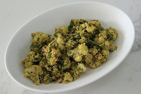 Cauliflower, Couscous and Pesto Salad