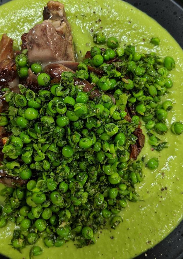Peas and Lamb