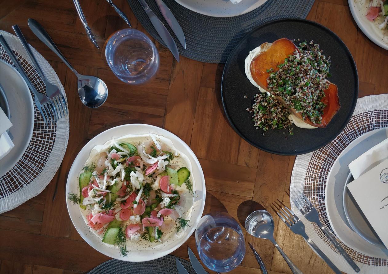 Table setting - Some Guys Food
