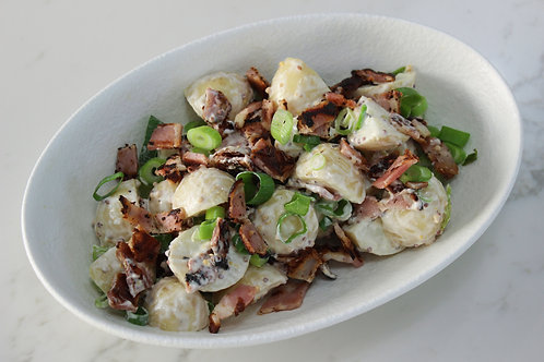 Potato Salad with Seeded Mustard Dressing