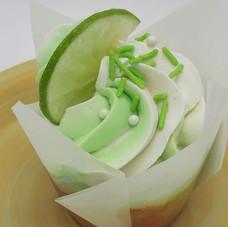 Key Lime with fruit wedge & sprinkles