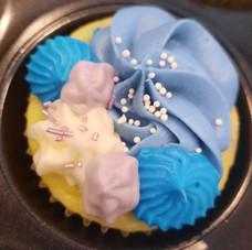 Vanilla, blue combo