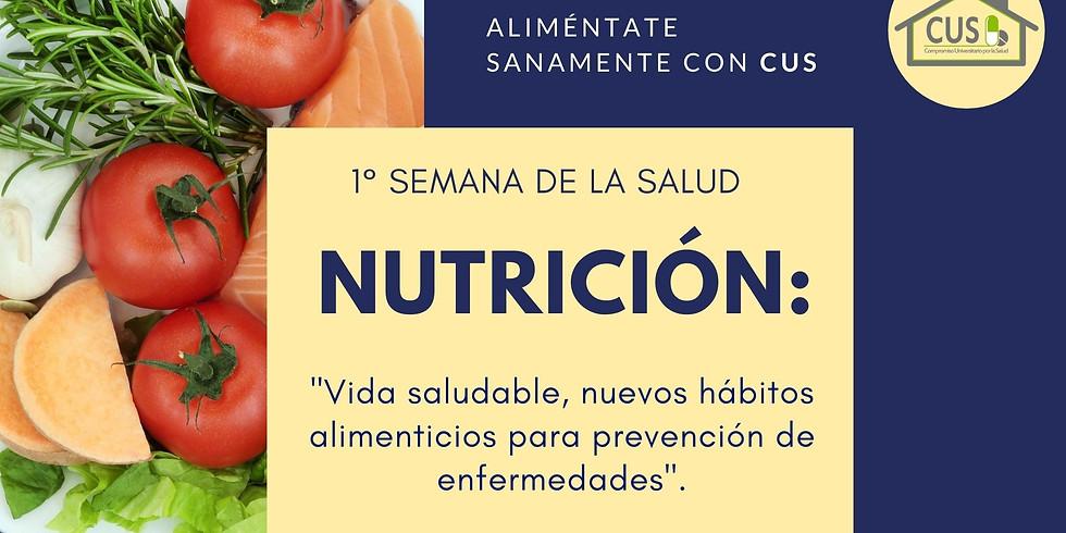 1° Semana de la Salud: Nutrición