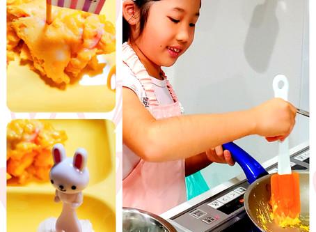 娘のまごころ料理(*´∀`)