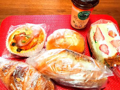 どうしてもパンが食べたくて…ψ(๑'ڡ'๑)ψ