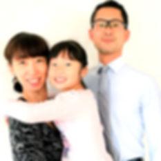 旭川ダンスカンパニー 高橋豊・いづみ 家族写真
