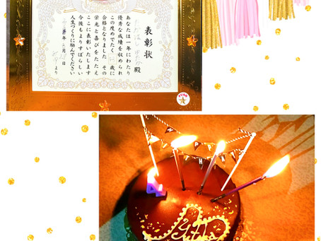 お誕生日でした(*´∀`*)