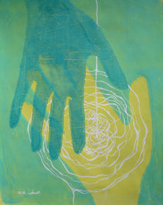 My ancestor's hand on mine - A series #1