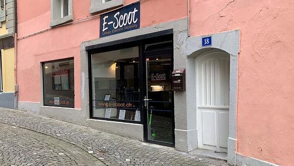 Magasin E-Scoot Lausanne