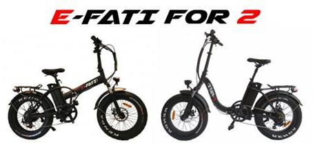 Les vélos E-Fati disponible chez E-Scoot